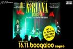 NIRVANA TRIBUTE BAND, 16.11.2019, Boogaloo, Zagreb